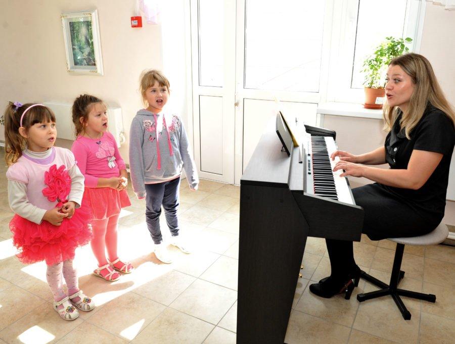 Занятия с детьми по музыке